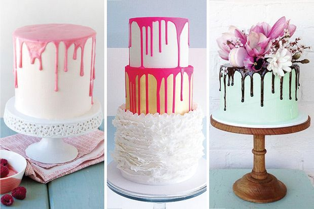 The Hottest Cake Trend Delish Amp Fun Colour Drip Cakes