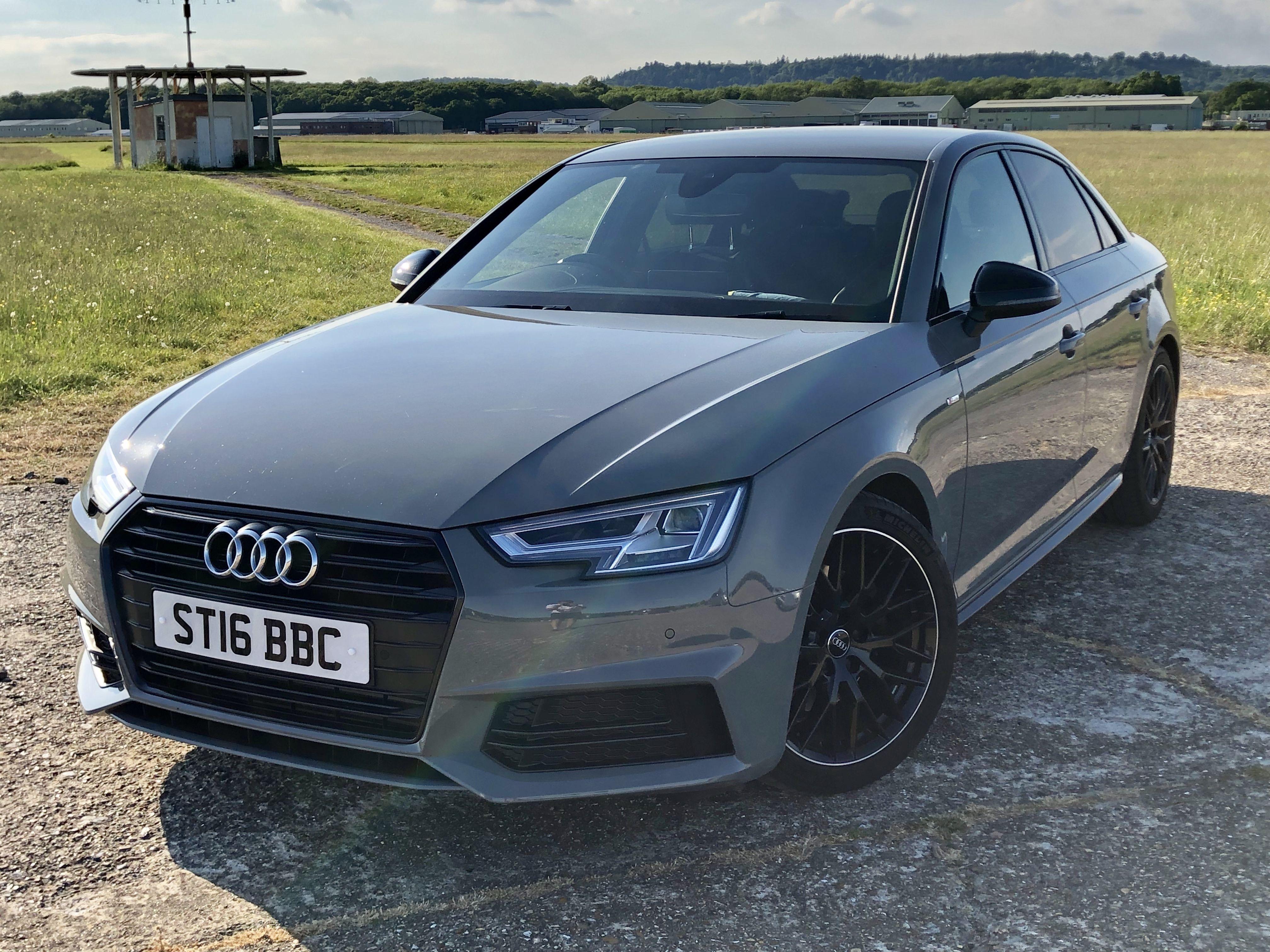 Quantum Grey Audi A4 Black Edition Audi A4 Black Audi Audi A4