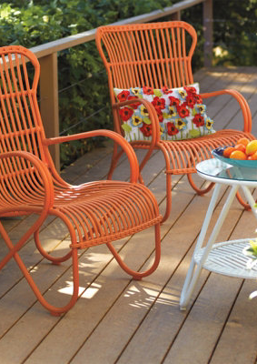 Summer Outdoor Furniture From Grandin Road
