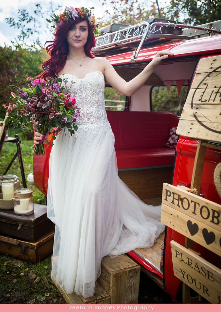 Casablanca bridal style tierra lace and soft tulle wedding