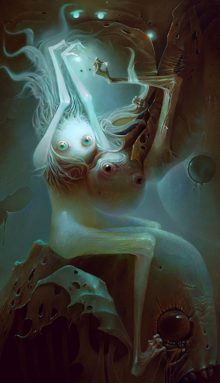 Image result for Dose Of Creepy Digital Illustrations By Russian Artist Alexandr Kumpan.