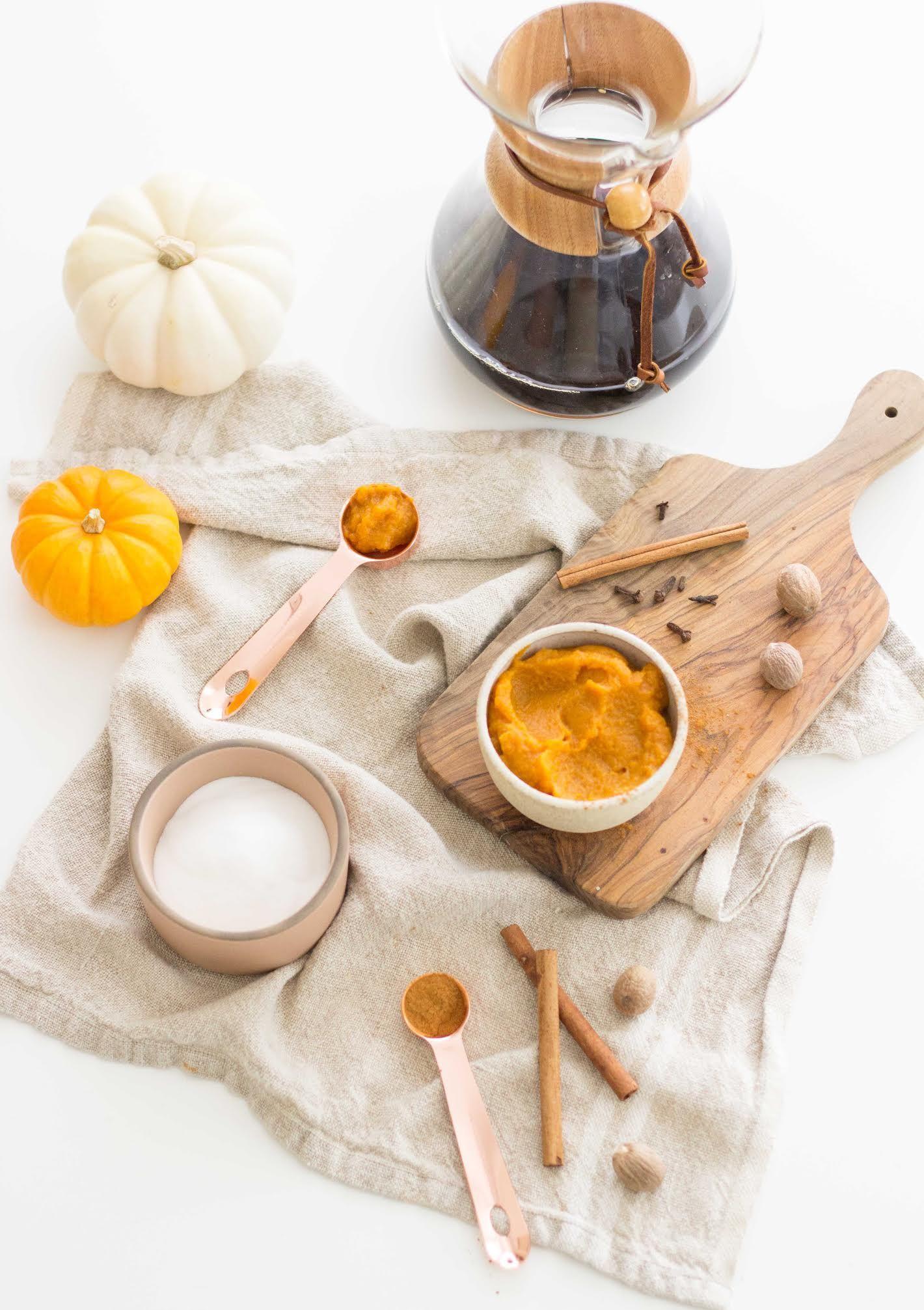 Homemade Bourbon Pumpkin Spice Latte