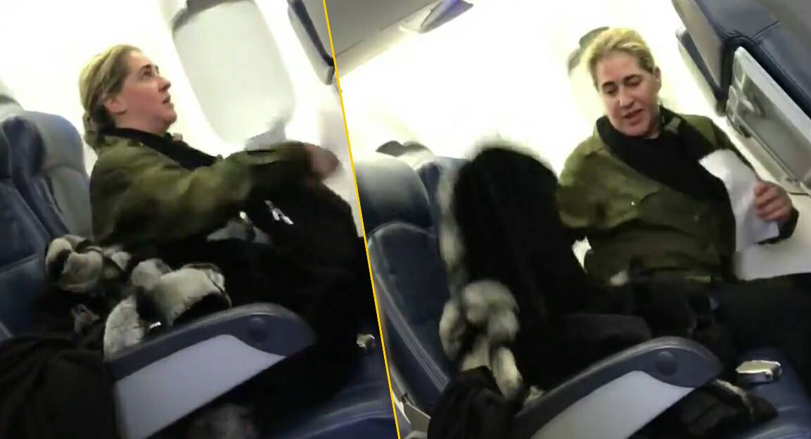 A Delta flight attendant asked a passenger to leave the