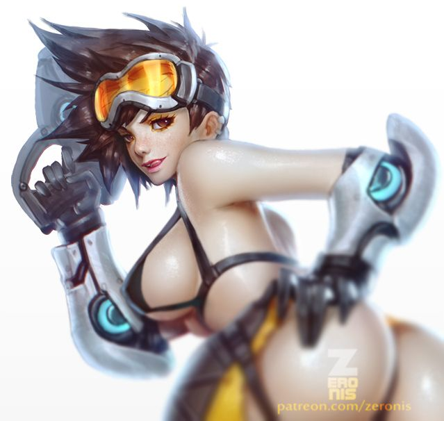 Overwatch sexy girls nsfw