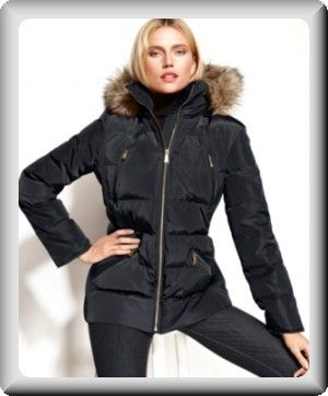 Michael Kors Women's Faux-Fur Quilted Hooded Puffer Coat 5 | Amour ... : quilted hooded coat - Adamdwight.com