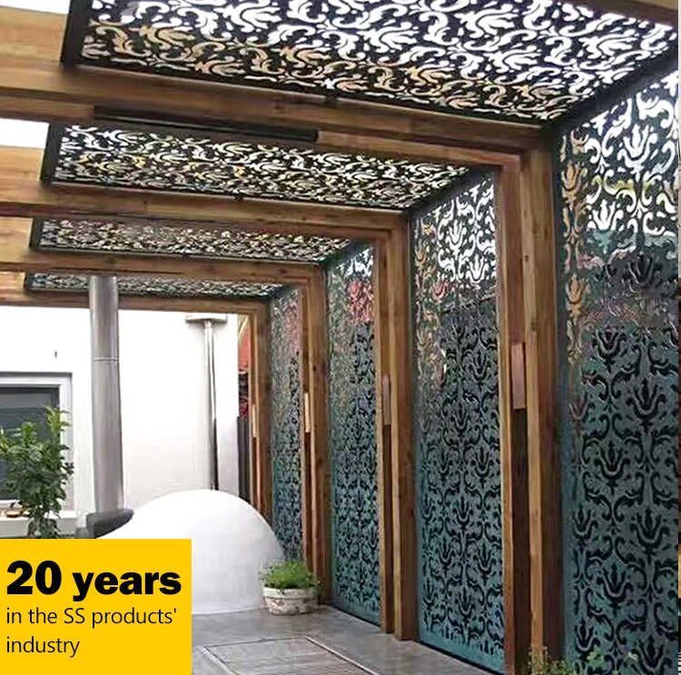 Metal Decorative Panels Outdoor Answerplane Com Privacy Fence Designs Fence Design Privacy Screen Outdoor