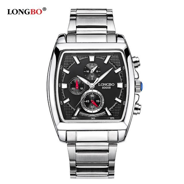 0ed47536f36 Military Men Stainless Steel Band Sports Quartz Watches Dial Clock For Men  Male Leisure Watch