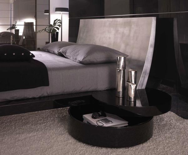 Luxurious Silver Bedroom Furniture for Enhancing the House Design ...