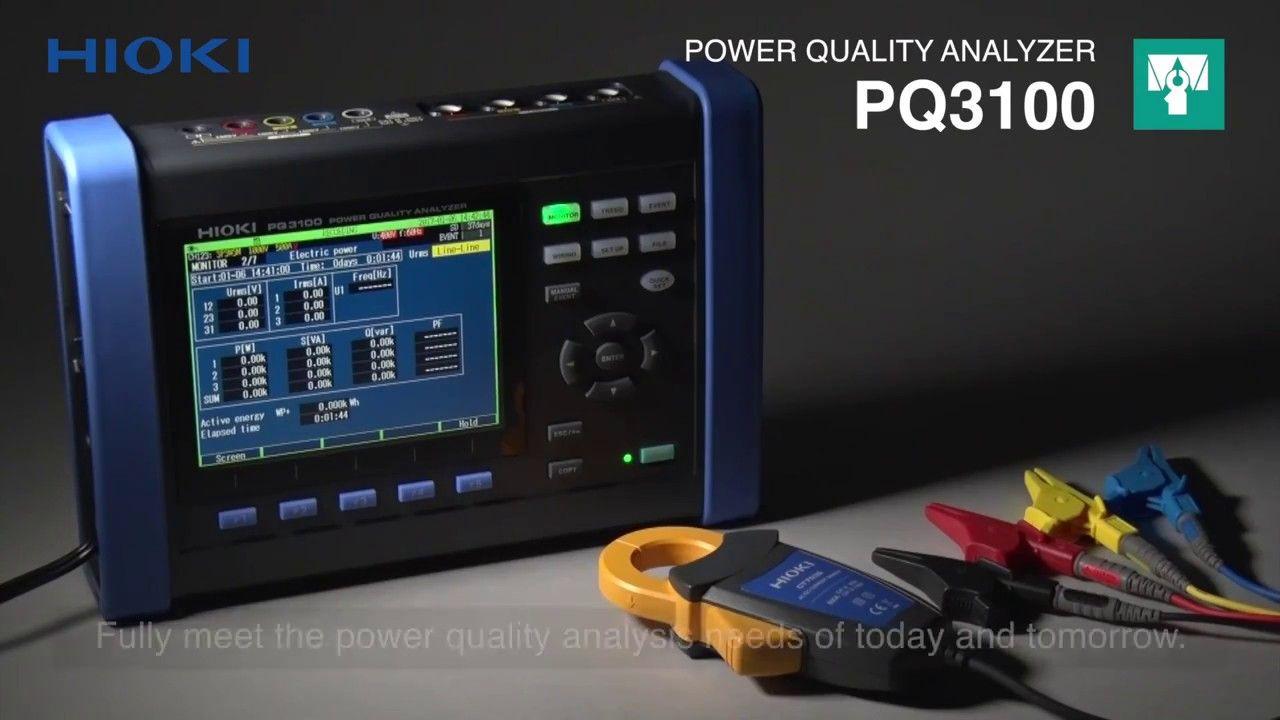 Jual Hioki Pq3100 94 Power Quality Analyzer Kit Ac Dc Alat Ukur Listrik