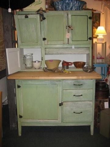 one old Hoosier style cupboard I regretted selling ...