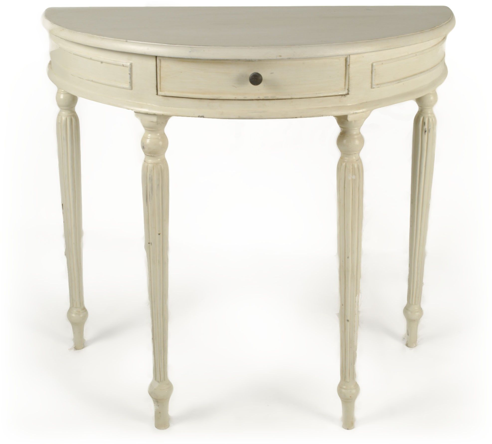 Small Half Moon Table For Hall half moon console table | french traditional | pinterest | half