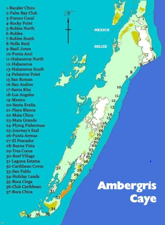 ambergris caye belize map San Pedro Town Belize Maps Ambergris Caye Belize Real Estate ambergris caye belize map