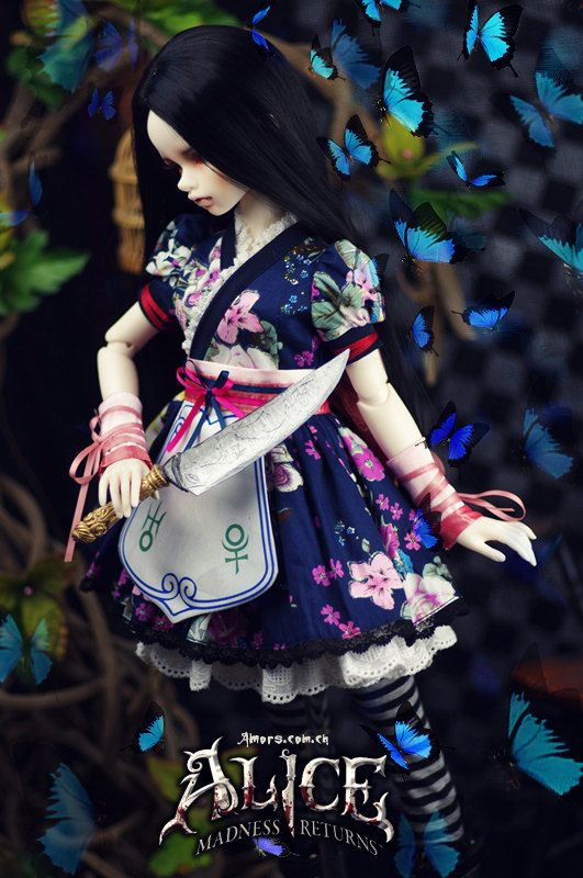 AmorsDoll [American McGee's Alice](Silk Maiden) for 1/3 1/4 BJD Girl size clothes