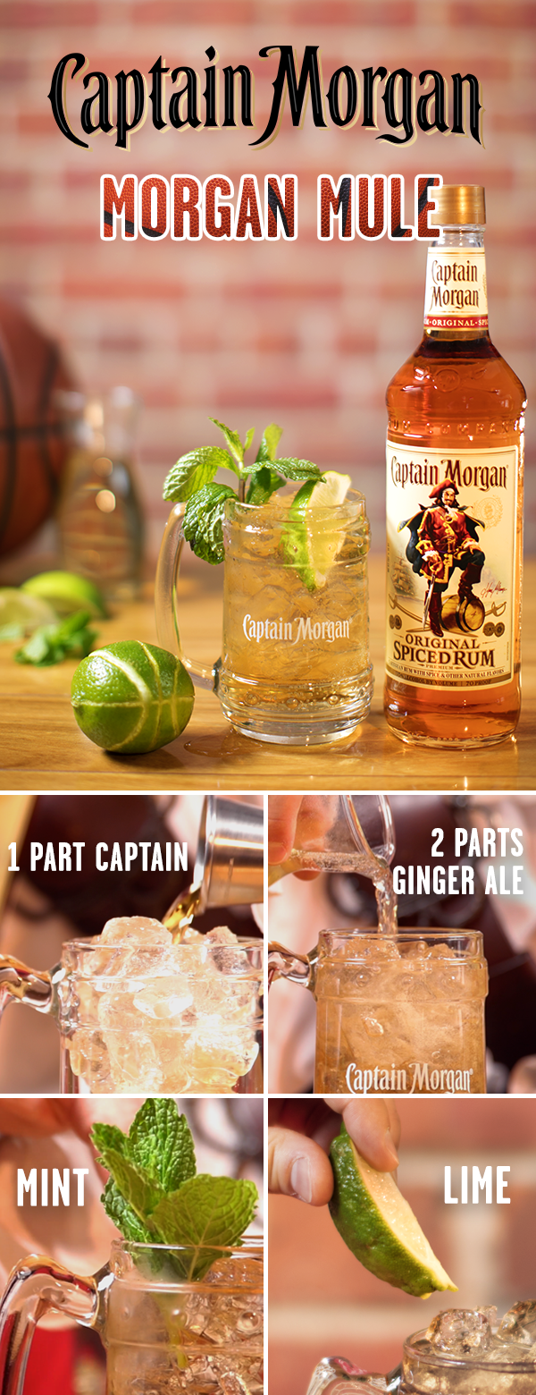 Let The Captain On The Court Worry About Breaking Down The Zone Hitting A Big Shot Or Rocking The Rim With A Slam D Spiced Rum Drinks Spiced Rum Yummy Drinks