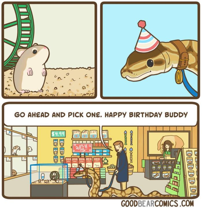 15 Comics With A Twist That Only People With A Dark Sense Of Humour Will Understand Funny Cute Cute Funny Animals Dark Sense Of Humor