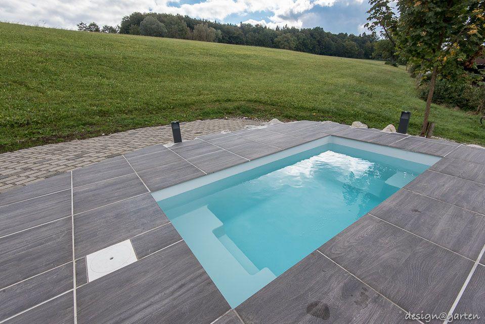 Kleiner Pool minipool design gartenhaus pool augsburg