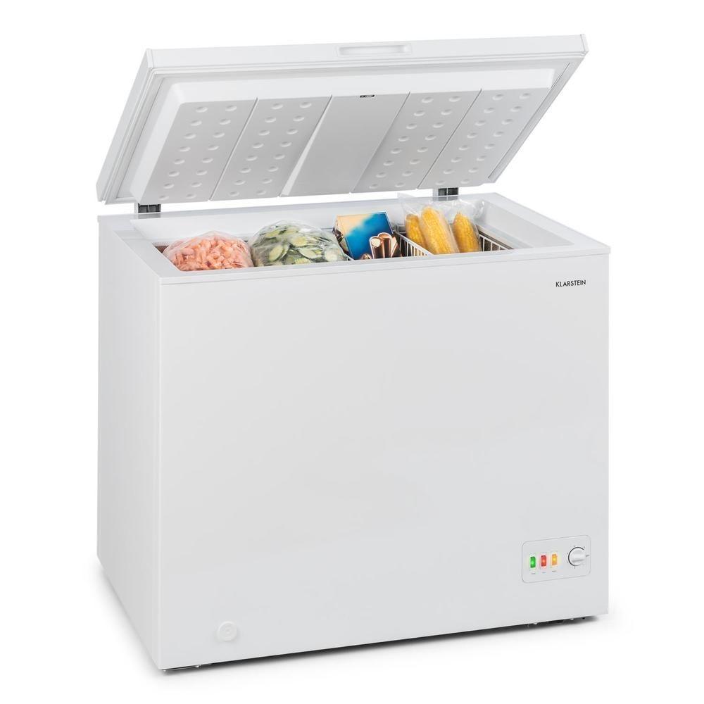 Gefriertruhe Tiefkühltruhe Eisschrank Gefrierschrank Freezer freistehend schwarz