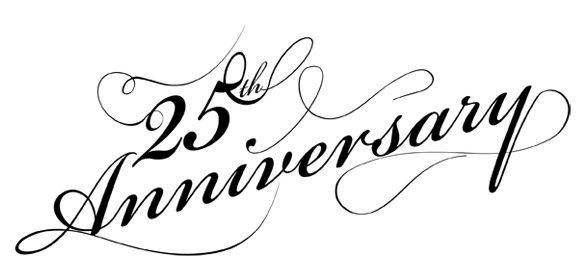 free 25th anniversary clip art google search vector 50th Anniversary Logo Ideas 25th Anniversary Company Logo