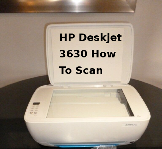 Get instruction for HP Deskjet 3630 how to scan to computer, scan to