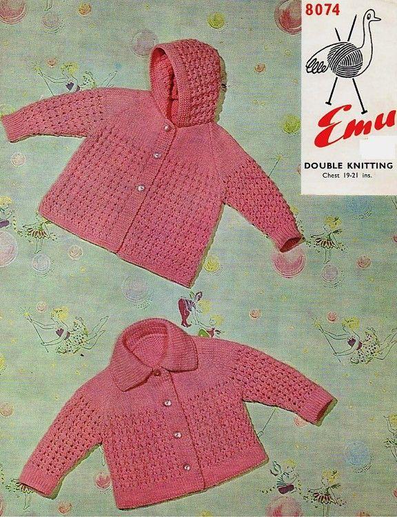 1de460497d19 Emu Knitting Patterns for Baby