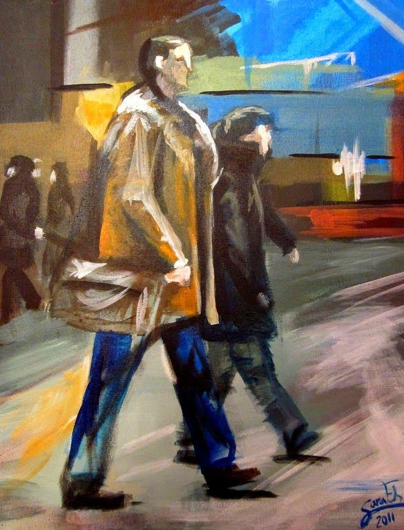 El Museo de Alberto: Personas paseando