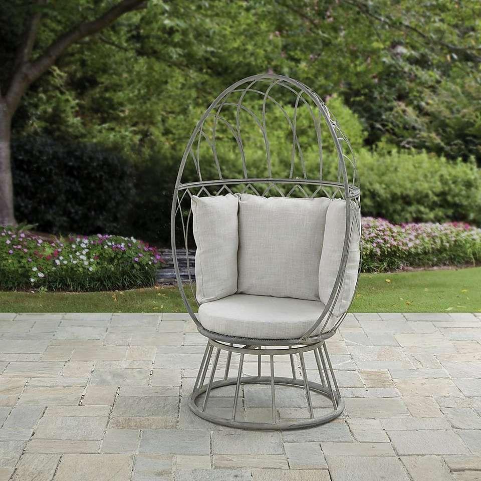 Florence Grey Swivel Chair | Dunelm | Grey swivel chairs ...