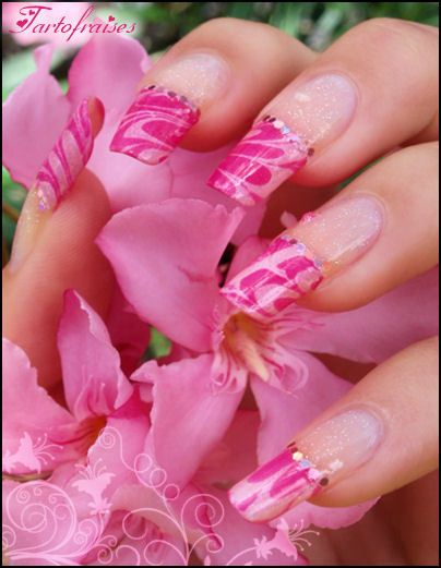 French manicure - French nails
