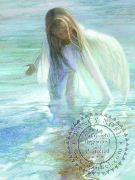 Angel of the Lake by Nancy Noel