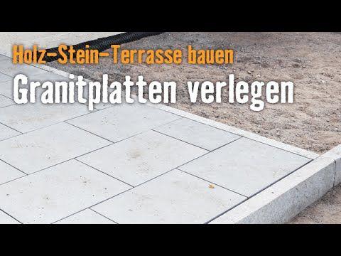 Wpc Stein Terrasse Bauen Kapitel 3 Randsteine Setzen Hornbach