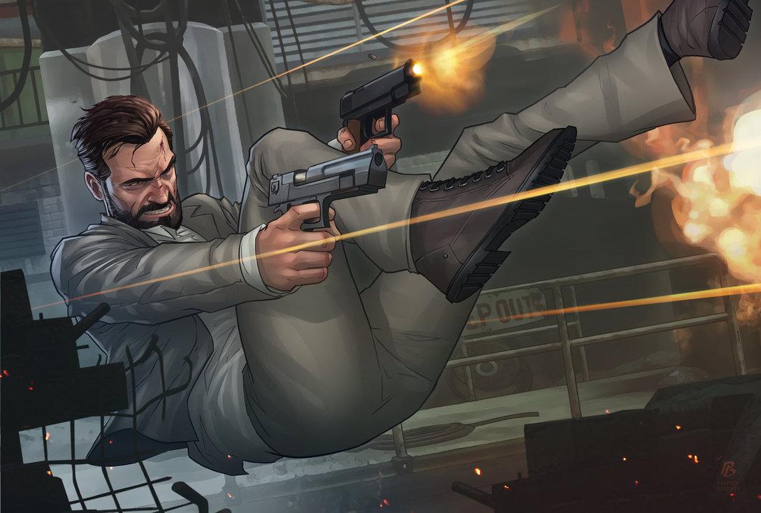 The Wonderful Artwork Of Patrick Brown Awesome Post Inspirational Digital Art Max Payne Digital Illustration