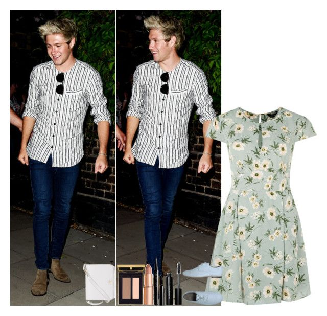 """""""L.A. w/ Niall"""" by walking-in-the-wind ❤ liked on Polyvore featuring memento, Rokin, Bobbi Brown Cosmetics, Marc Jacobs, Charlotte Tilbury and Furla"""