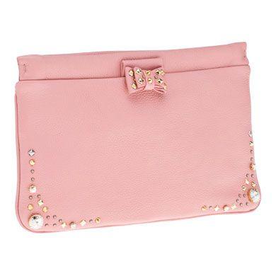 d67780de06ac Pink gold studded tiny bow MiuMiu Clutch. Michael Kors Handbags ...