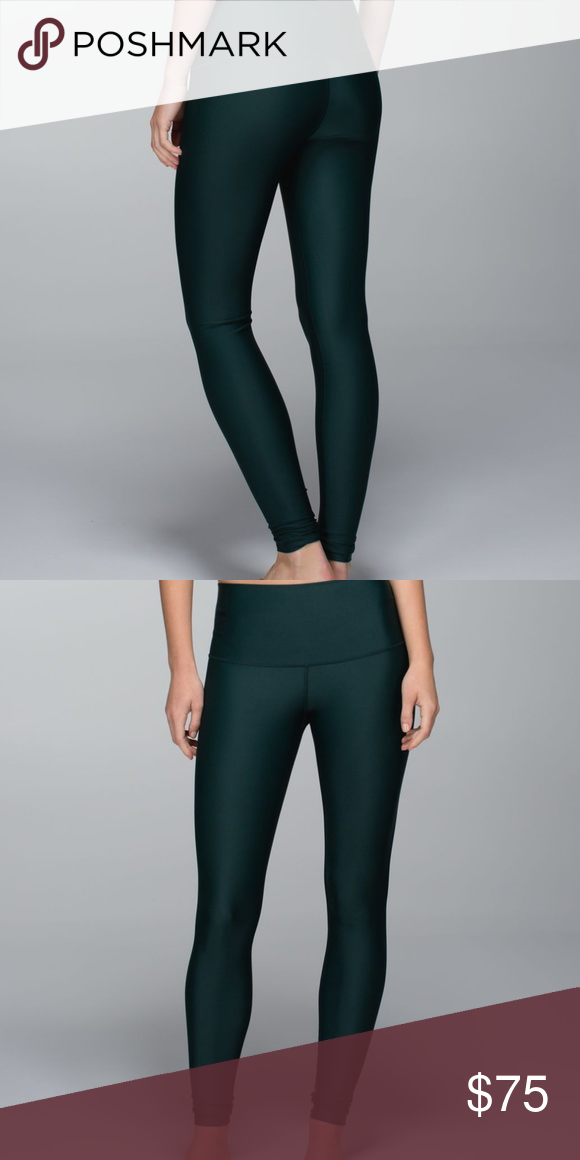 d821f89bf1 lululemon fuel green shine tight- RARE FIND size 6 Tights are in perfect  condition (