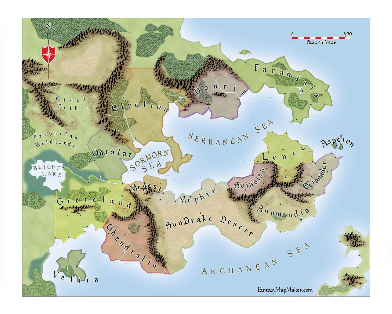 Par Lindstrom Style Fantasy World Map | m a p s | Pinterest