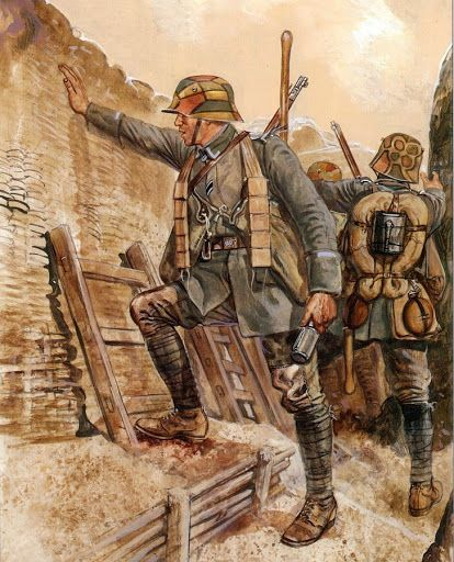 The Final German Offensive, NCO of an Attack Division(Angriffdivision) 1918