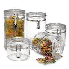 I Love These Oggi Canisters From Bed Bath Beyond They Have A