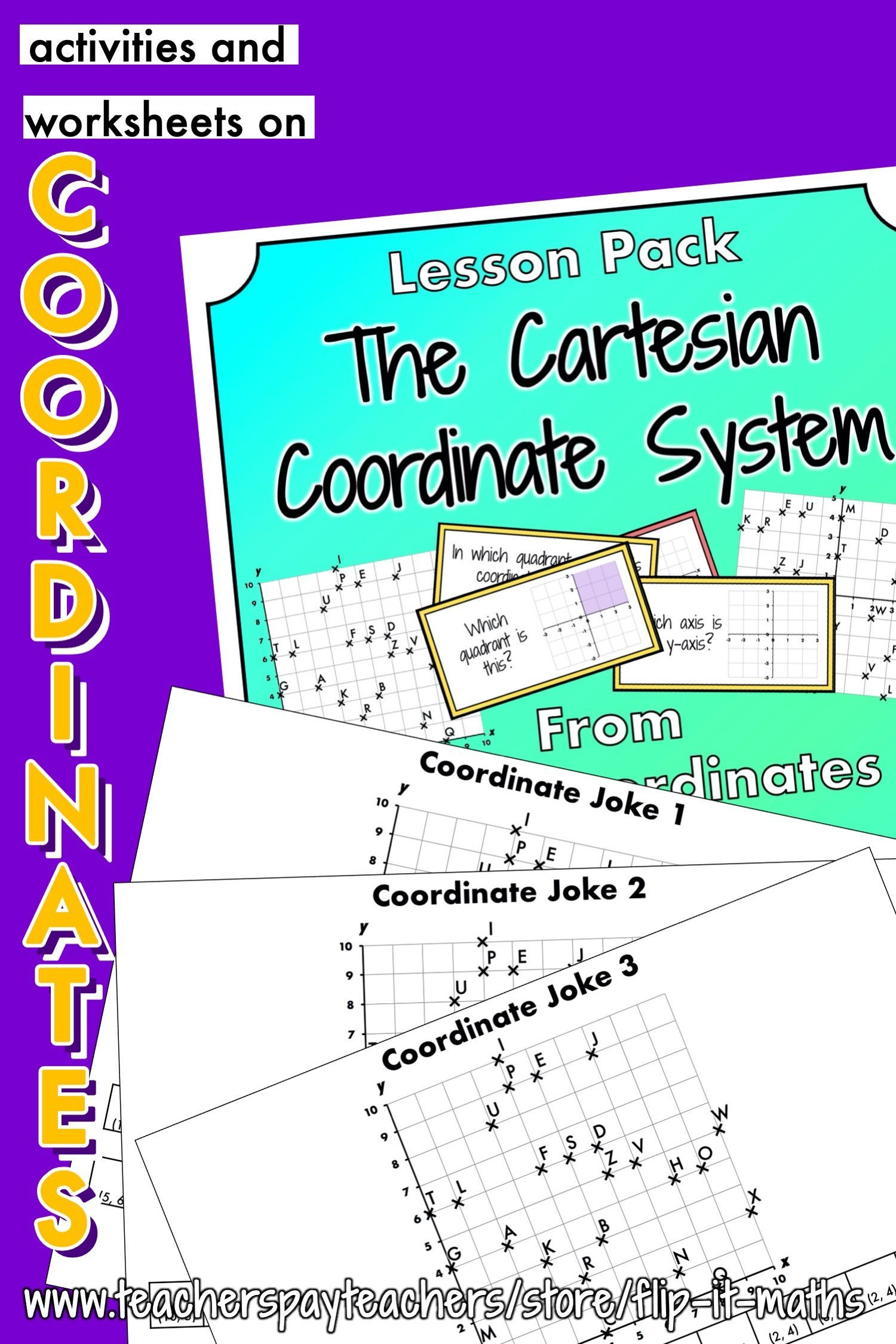 The Cartesian Coordinate System In