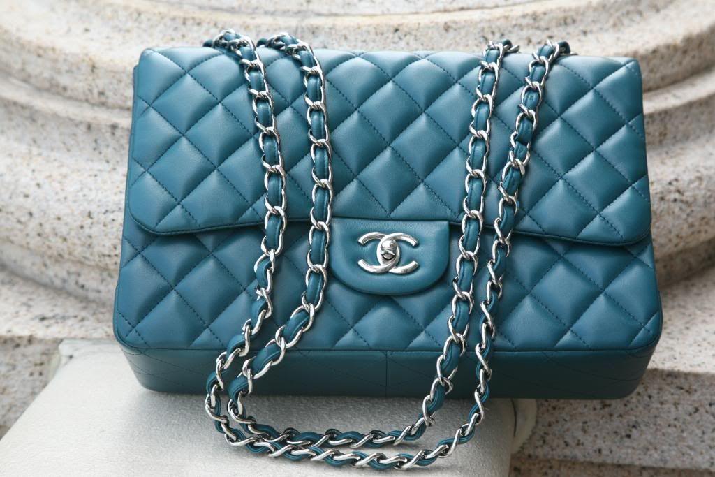 9d3162db0aed turquoise chanel bag | HANDBAGS | Chanel, Bags, Handbag accessories