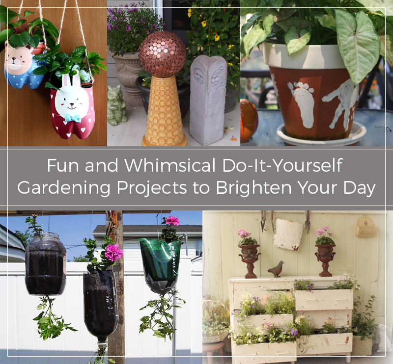 Fun and whimsical do it yourself gardening projects to brighten your fun and whimsical do it yourself gardening projects to brighten your day solutioingenieria Images