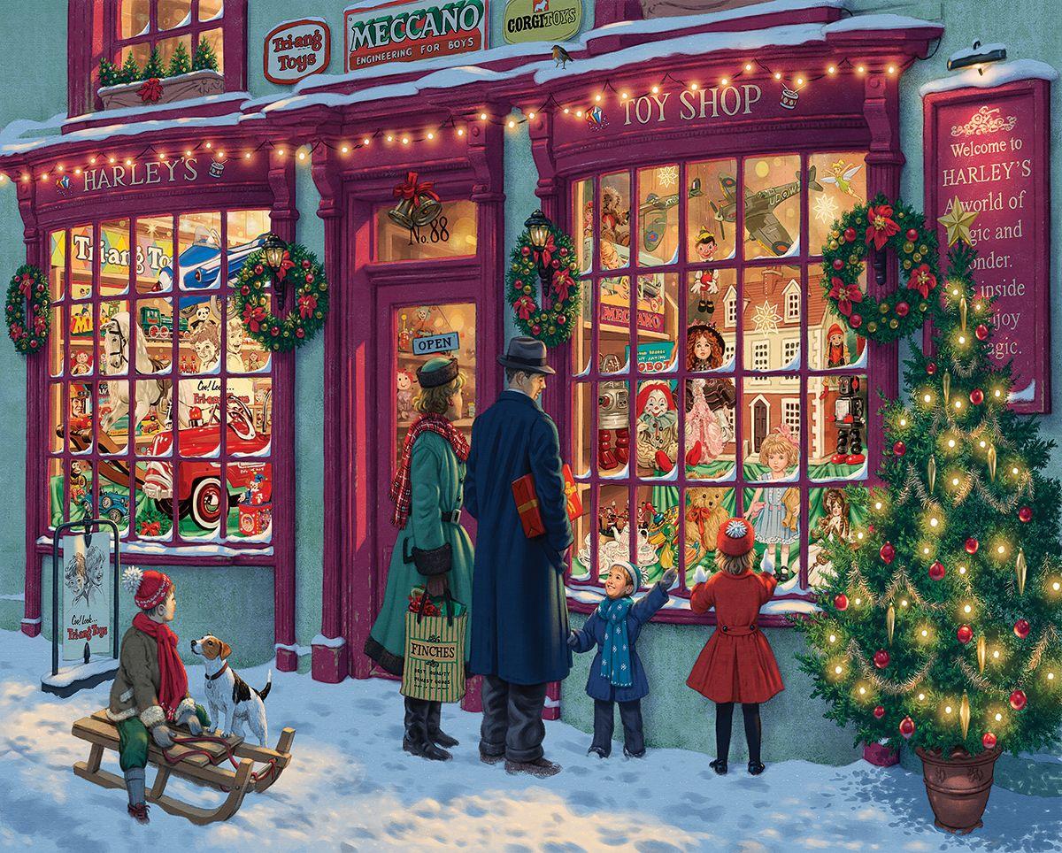 Магазин новогодних открыток