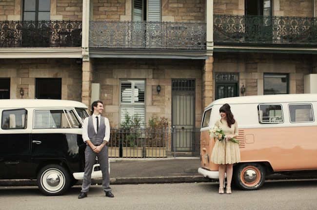 Vintage Wedding Vw Bus