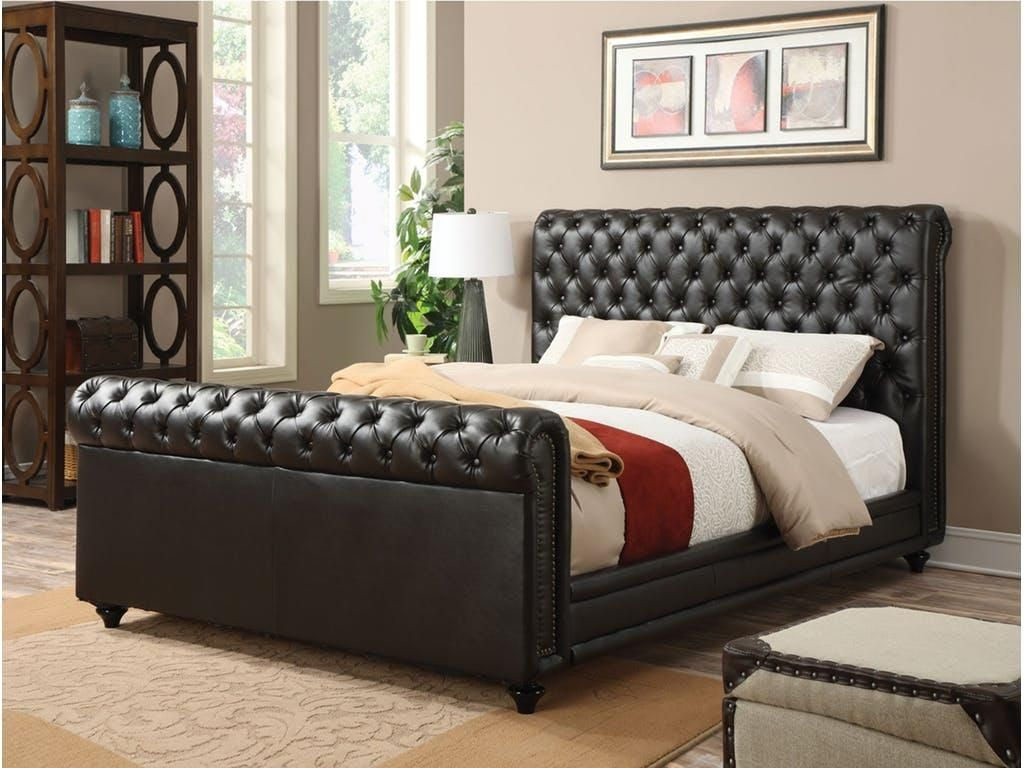 Acme Furniture Norris Collection 24367EK King Size Bed