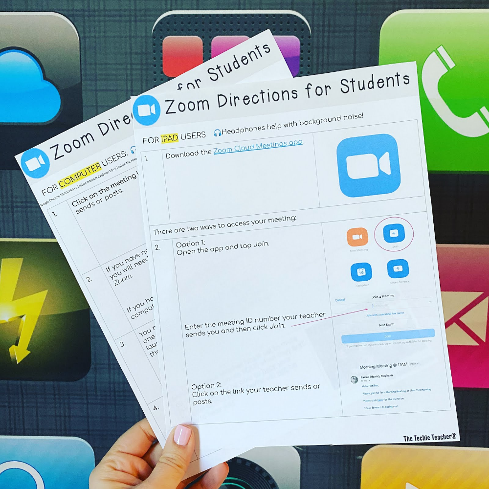 Zoom Directions for Students en 2020 (avec images) Cours