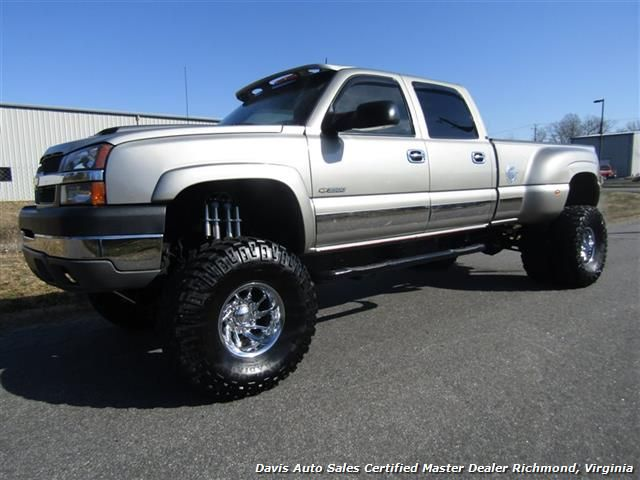 2003 Chevrolet Silverado 3500 Hd Lt 4x4 Lifted Dually Drw Crew Cab Long Bed Low Mileage For Sale In Richmond Va Www Lifted Chevy Trucks Trucks Lifted Dually