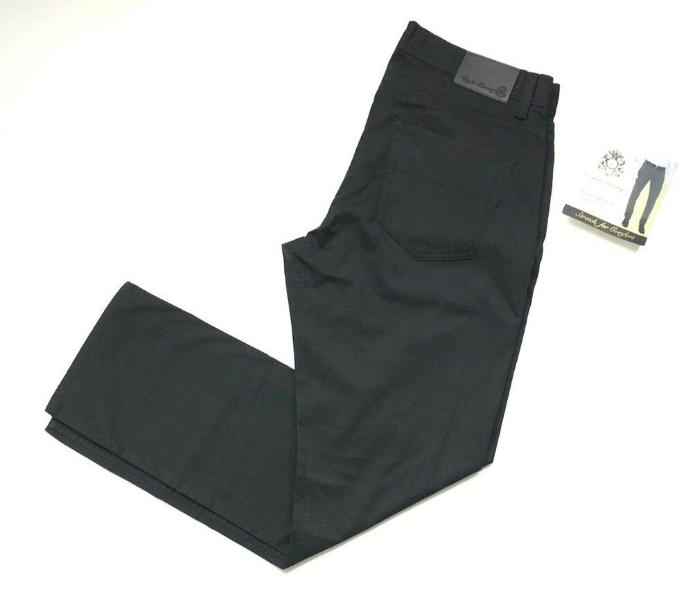 English Laundry Mens Arrogant Stretch Comfort 5 Pocket Texture