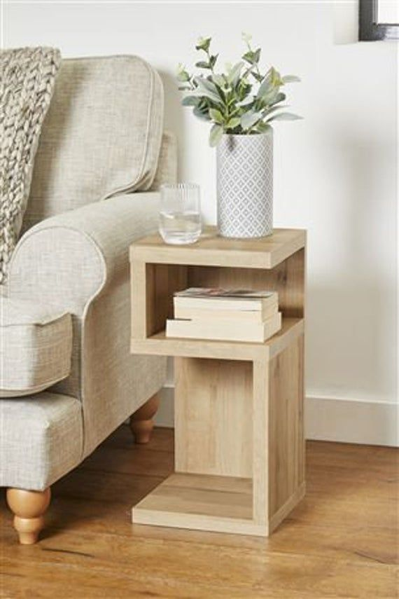 End Table Bed Side Table Coffee Table Sofa Table Side Table Wooden Table Night Stand Wood Table Sofa Side Table Tray Table Chair Arm Rest In 2020 Wood Side Table Diy Table Decor Living Room