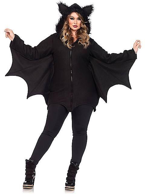 plus size halloween costumes 2015 (updated) | adult cozy bat plus