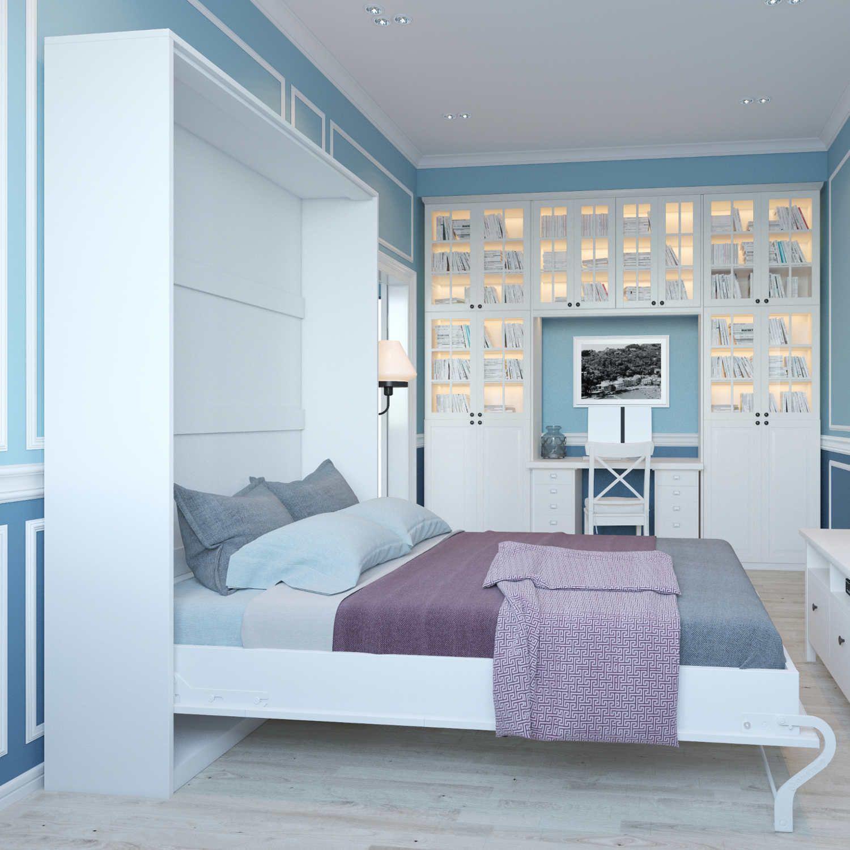 Design Von Schlafzimmer: Design Von Wandbett In Schlafzimmer