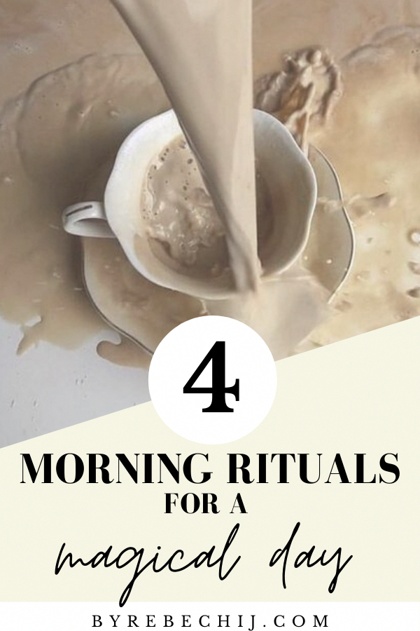 How to practice self-love and self-care each morning through easy morning rituals. The first step in...
