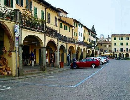 There may be no finer Tuscany village to visit than Greve in Chianti. Province of Florence